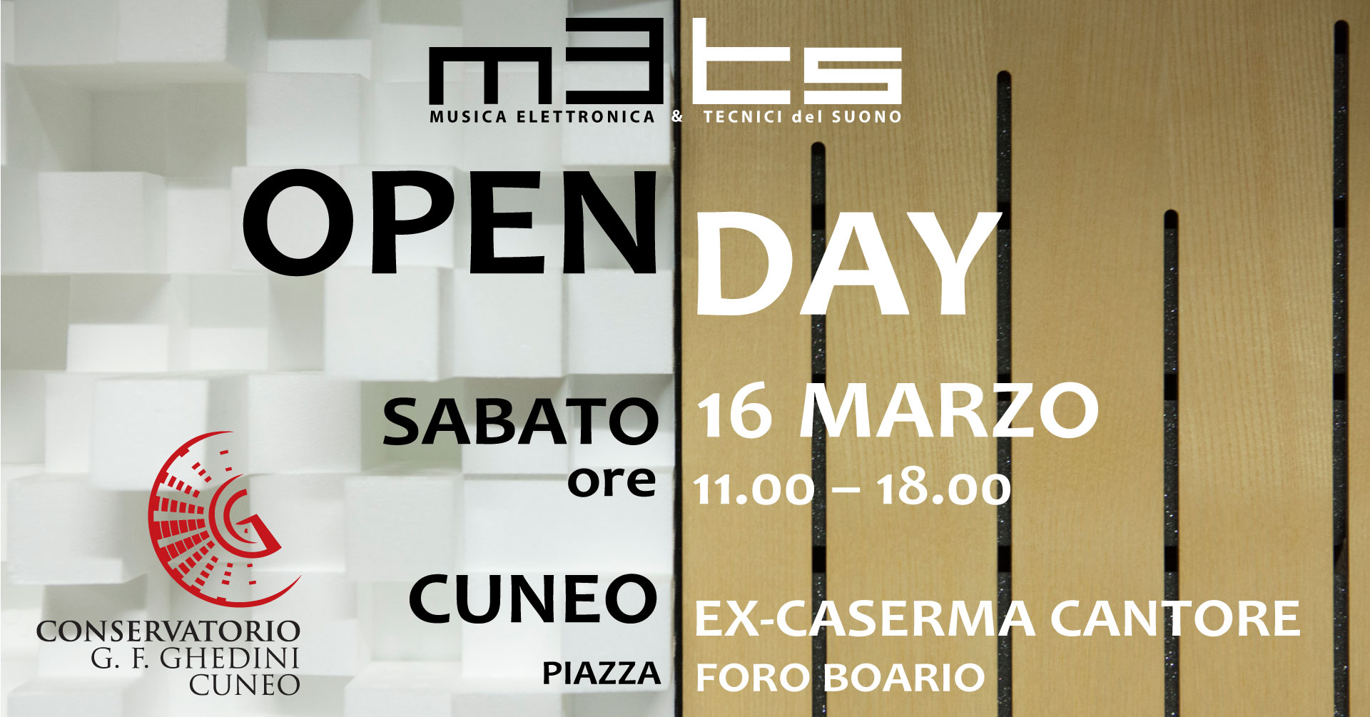 OPEN DAY 2019!!! – PORTE APERTE @METS