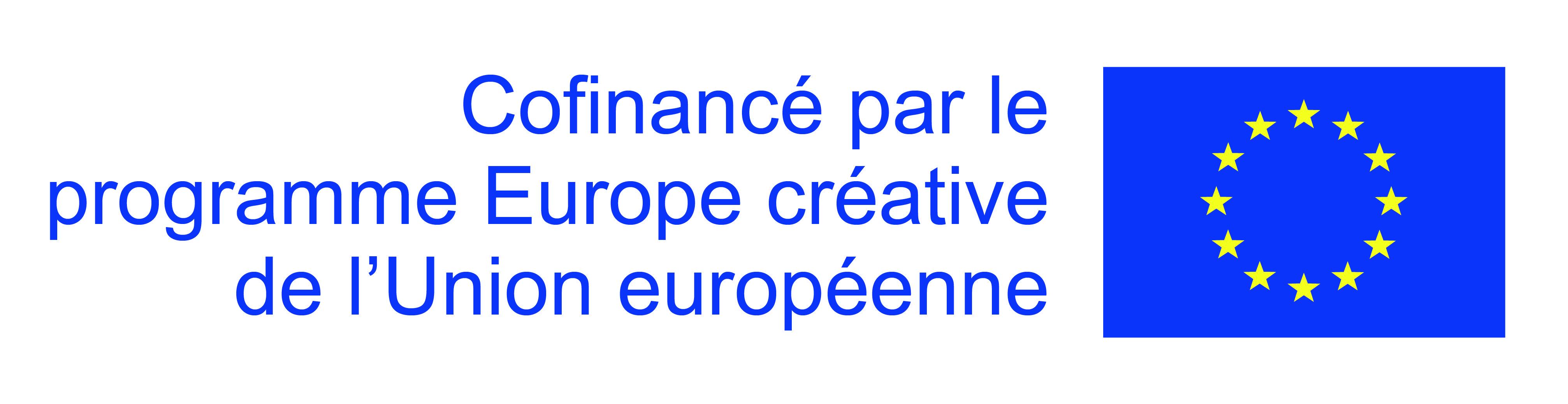 Cofinancé pal le programme Europe créative de l'Union européenne