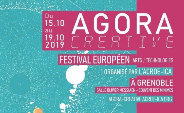 METS @AGORA CREATIVE a Grenoble, 15-19 ottobre 2019